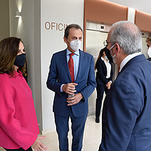 Pedro Duque, Minister of Science and Innovation, meets José Escribano, Algenex Founder and Chief Science Officer - October 24, 2020